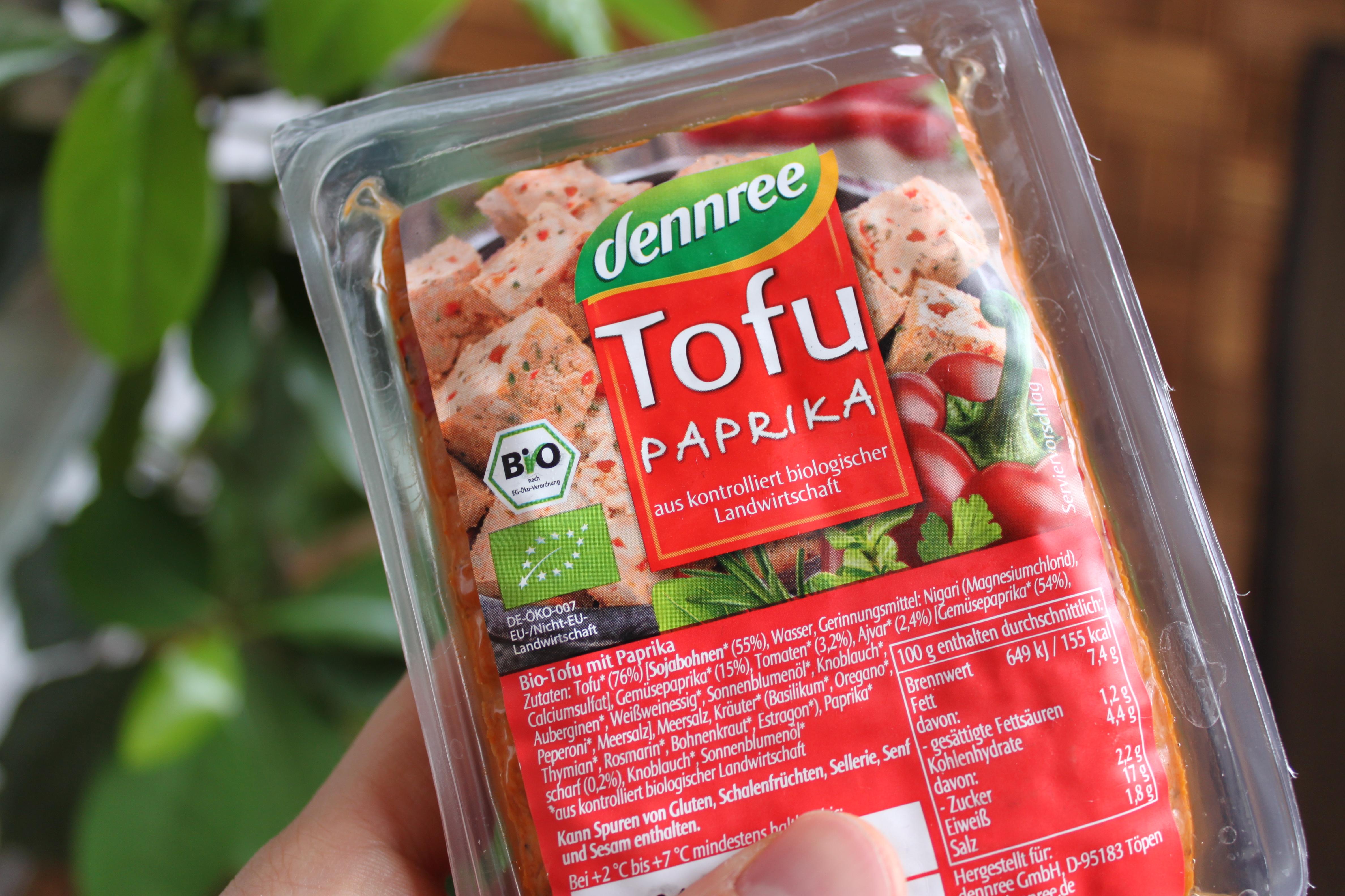 Paprika-Tofu